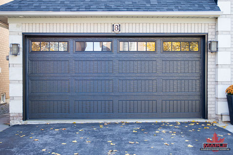 maple overhead garage doors